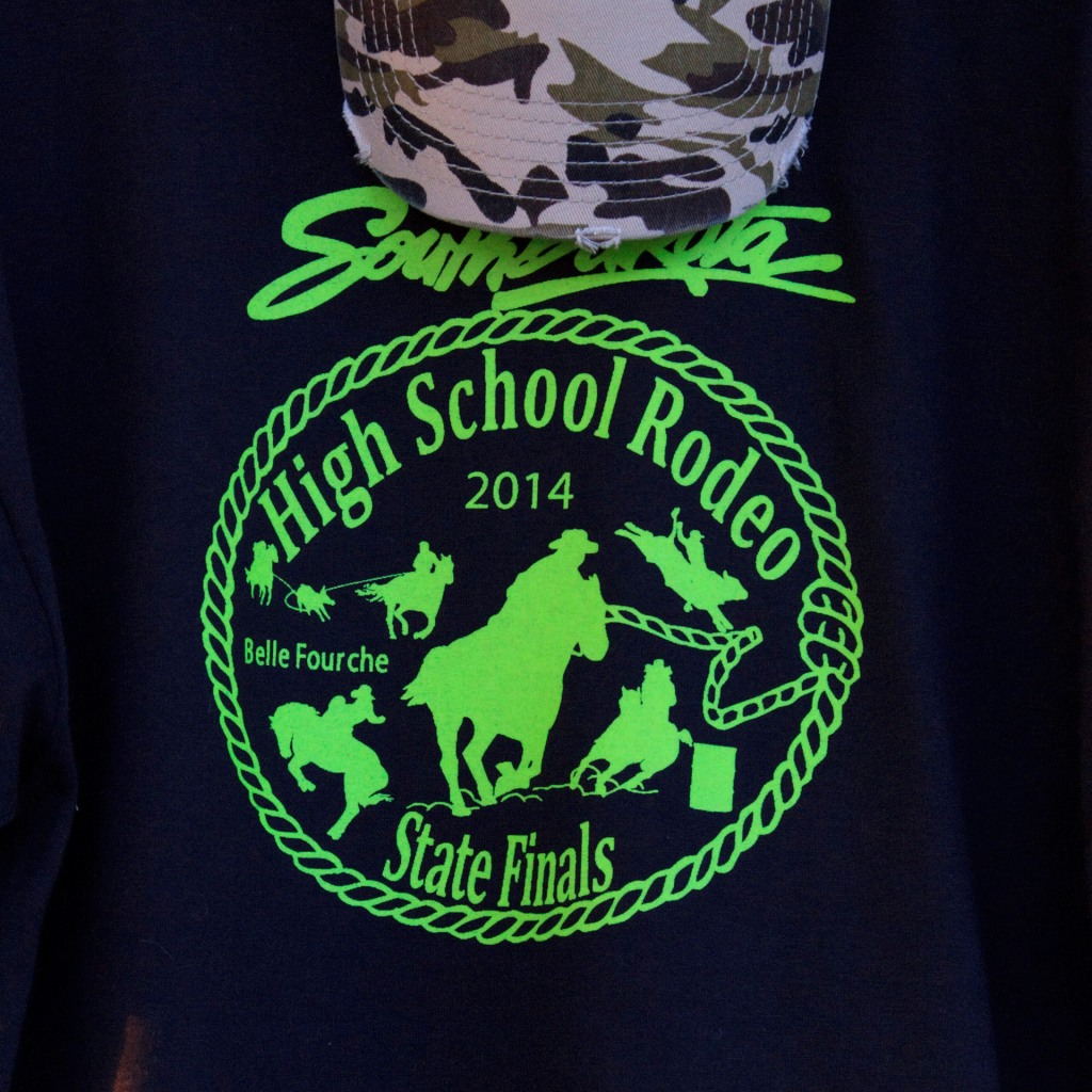 South Dakota High School Rodeo Finals T-shirt